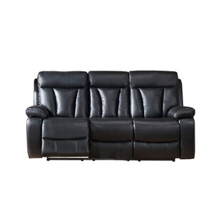 Red Barrel Studio Muoi Reclining 2 Piece Leather Living Room Set