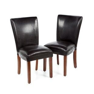 Wildon Home ® Palo Alto Parsons Chair (Set of 2)