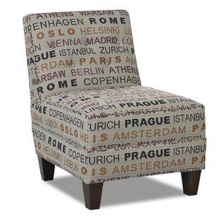 Bellamy Slipper Chair by Klaussner Furniture