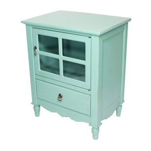 Couronne 1 Drawer Accent Cabinet by Lark Manor