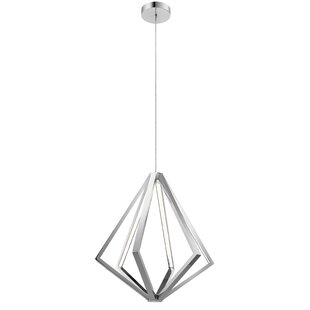 Bressyln 6-Light LED Geometric Chandelier by Brayden Studio