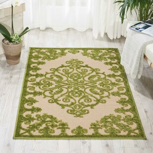 Farley Green Indoor/Outdoor Area Rug