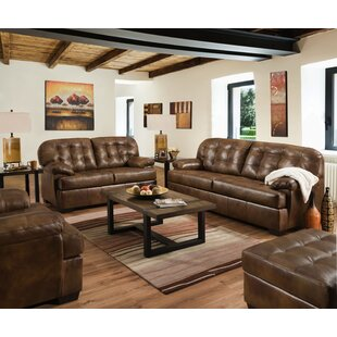 Savings Joan Leather Configurable Living Room Set by Millwood Pines Reviews (2019) & Buyer's Guide