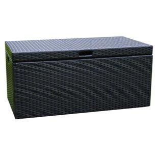 70 Gallon Wicker Deck Box