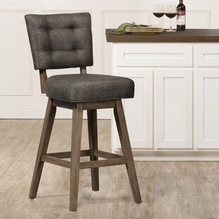 Rubinstein 30 Swivel Bar Stool by Gracie Oaks #2