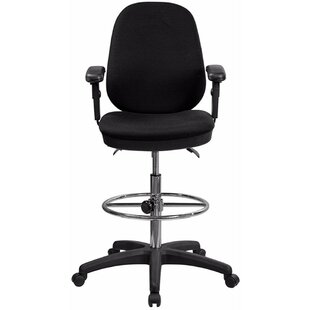 Ergonomic 19.25 Multi-Functional Height Adjustable Drafting Chair