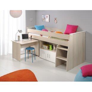 Demeter Midsleeper Twin Bed by Zoomie Kids