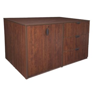 Linh Stand Up Storage Cabinet and 3 Lateral File Quad by Latitude Run