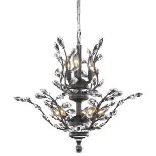 Lamons 8-Light Candle Style Chandelier