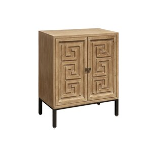 Sullivan Wood 2 Door Accent Cabinet by World Menagerie