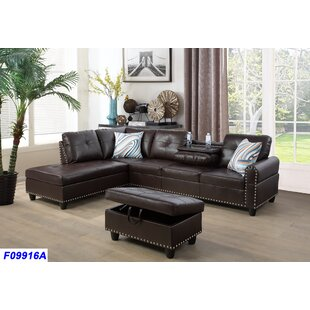 Schwindt Sectional with Ottoman