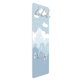 Castle In The Clouds Wall Mounted Coat Rack By Symple Stuff