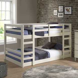 Kemah Solid Wood Twin Bunk Bed