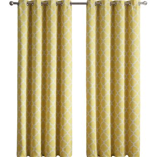 chevron polyester and panel yellow mainstays walmart pair ip cotton curtains white curtain com