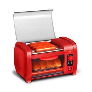 2 Slice Hot Dog Roller Toaster Oven