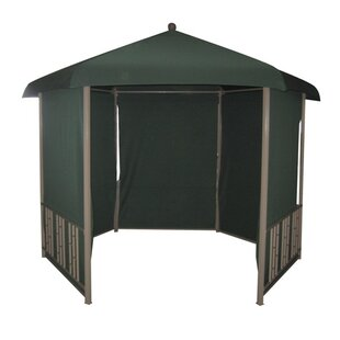 11 Ft. W x 11 Ft. D Steel Patio Gazebo by DC America