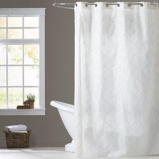 Debrah Ivory Single Shower Curtain