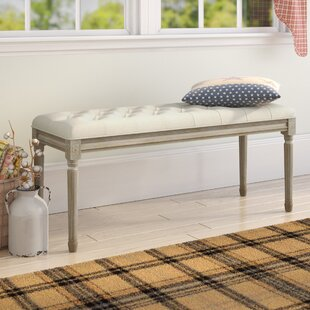 Ophelia & Co. Wicks French Upholstered Bench