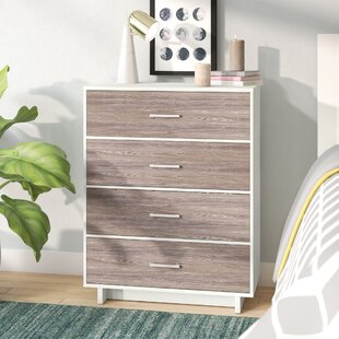 Budget Bolding 4 Drawer Chest by Isabelle & Max Reviews (2019) & Buyer's Guide