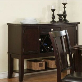 Ruhl Chicly Styled Buffet Table by Charlton Home