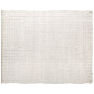 Best Mini Bars Hand Woven Silk White Area Rug By Exquisite Rugs