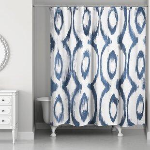 Sapienza Cat Eye Single Shower Curtain
