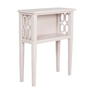Sergio Rectangular End Table by Bungalow Rose