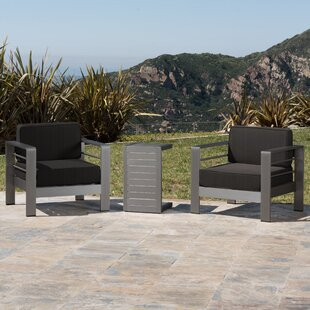Crosstown 3 Piece Conversation Set with Cushions