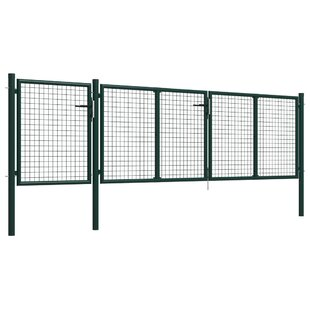 Adara Garden 13' X 5' (4m X 1.5m) Metal Gate By Sol 72 Outdoor
