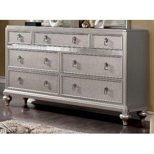 Rosdorf Park Bo 7 Drawer Double Dresser