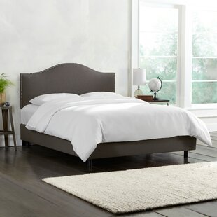 Emilia Upholstered Panel Bed by Wayfair Custom Upholstery™