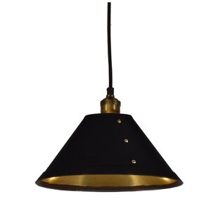 Brayden Studio Trafton 1-Light Cone Pendant