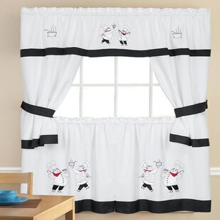 Fat Chef Kitchen Curtains Wayfair Ca