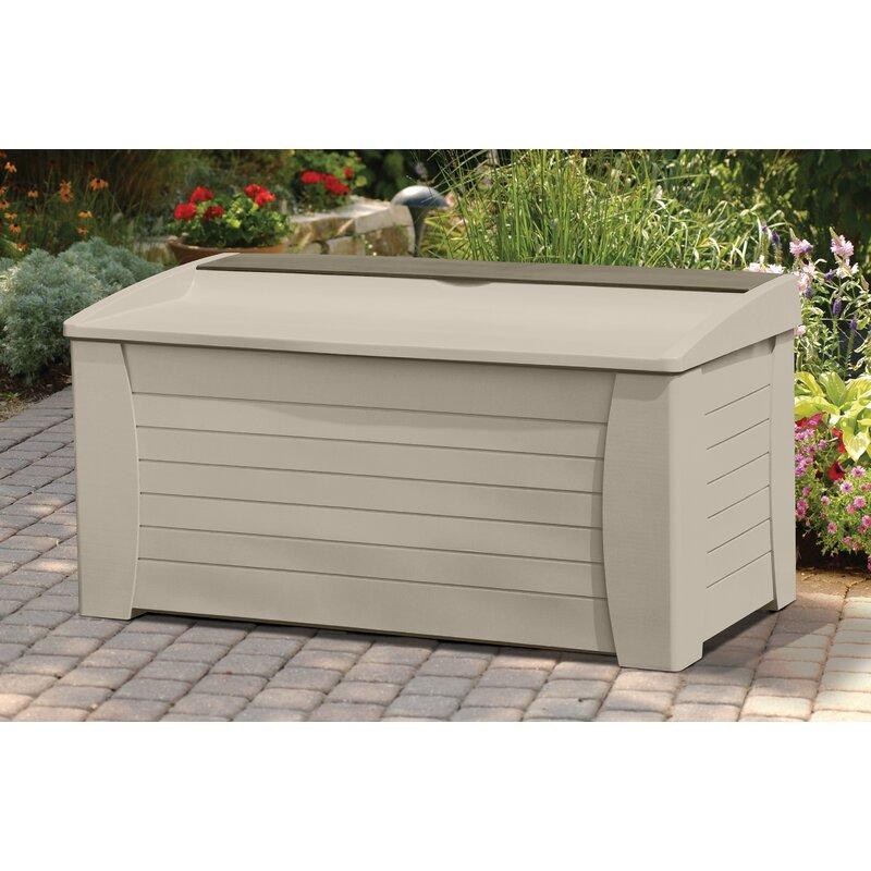 Suncast 127 Gallon Resin Deck Box Reviews Wayfair