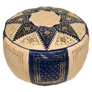 Moroccan Marrakech Leather Pouf