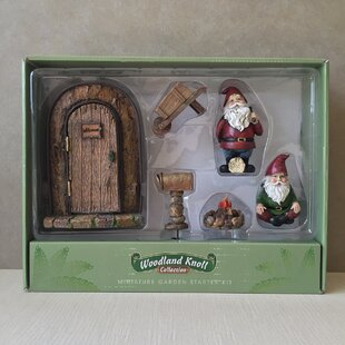 6 Piece Gnome Door Set by Marshall Home Garden