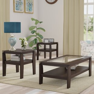 New City 3 Piece Coffee Table Set