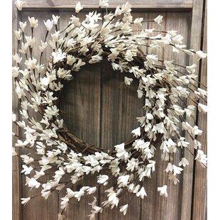 20 Pear Blossom Wreath