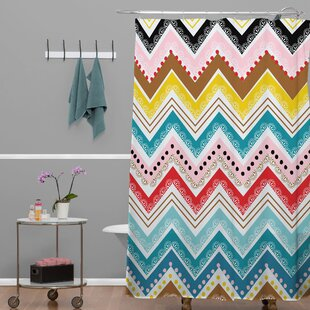 Banda Single Shower Curtain by Brayden Studio Best #1