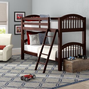 Mireya Twin Over Twin Bunk Bed by Viv  Rae