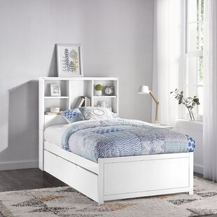 Body Caspian Twin Mate's & Captain's Bed with Trundle and Bookcase by Harriet Bee