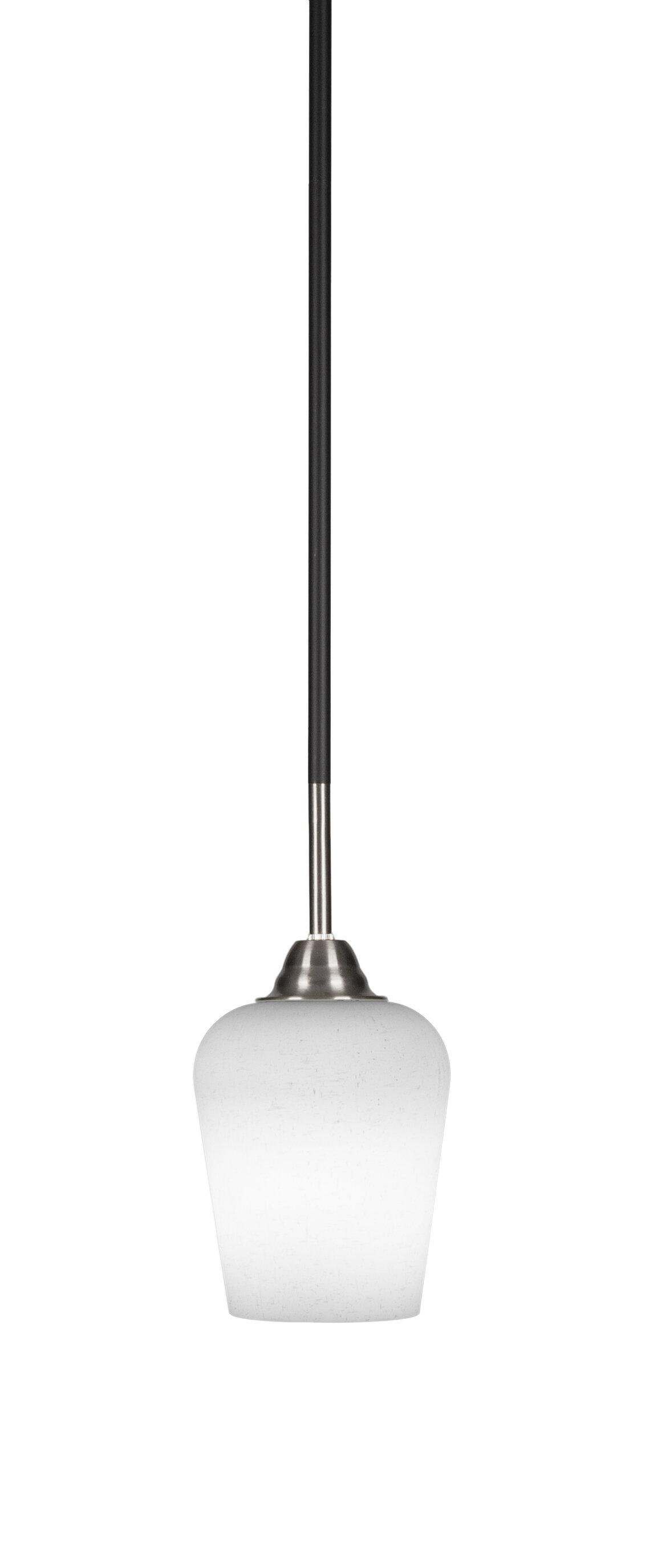 Red Barrel Studio Tao 1 Light Single Bell Pendant Wayfair