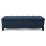 Amalfi Upholstered Flip Top Storage Bench by Three Posts™