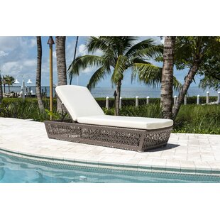 Maldives Reclining Chaise Lounge with Cushion