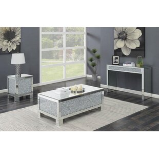Rosdorf Park Mabrey 3 Piece Coffee Table Set