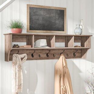wall hooks birch lane rh birchlane com coat hanger shelf ikea coat hanger shelves for sale