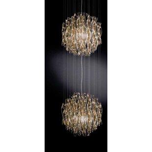 Buggs 2-Light Crystal Chandelier by Orren Ellis