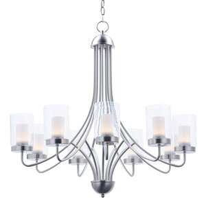 Caverly 9-Light LED Candle-Style Chandelier