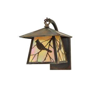 Trend 1-Light Outdoor Wall Lantern By Meyda Tiffany