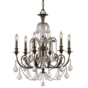 Astoria Grand Markenfield 6-Light Candle Style Chandelier